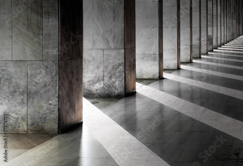 Leinwandbild Motiv Columns