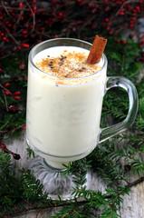 Delicious, creamy, festive eggnog