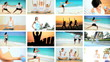 Montage of Luxury Health & Fitness Female Lifestyles