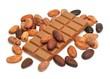 Schokoladentafel, Kakaobohnen