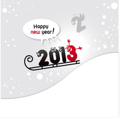2013, voeux 2013, happy new year