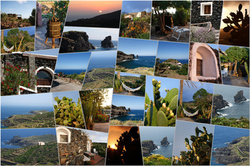 pantelleria perla nera collage