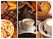 Cioccolata con nocciole,caffè e cappuccino