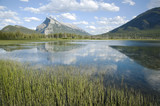Vermillon Lake and Mount Rundle in the background