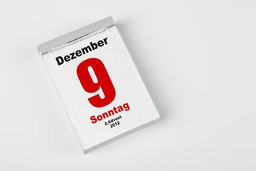 9 Dezember 2012