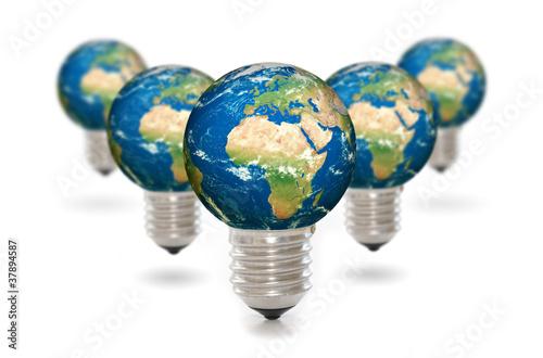 Plexiglas Energie renouvelable.