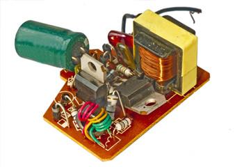 Elektronik einer Energiesparlampe