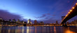Manhattan panorama at dusk