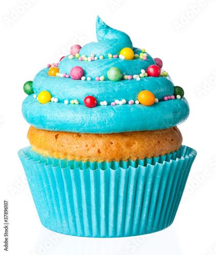 Foto op Plexiglas Bakkerij cupcake