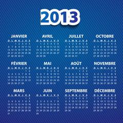 Calendrier français 2013