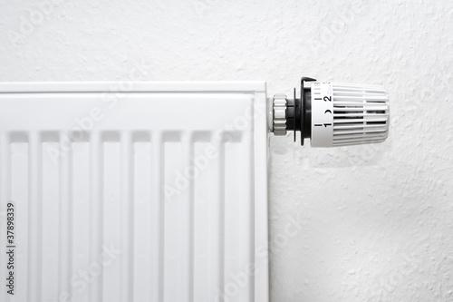 Leinwandbild Motiv Thermostat