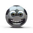 Friendly soccer ball