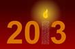 2013, bougie polyglotte