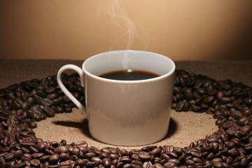 taza + café