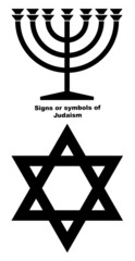 Signs or symbols of Judaism
