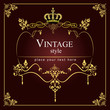 Invitation vintage card. Wedding or Valentine`s Day. Vector illu
