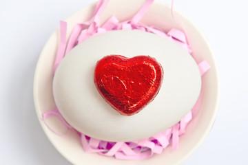 Red heart ( valentine )