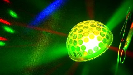 Lighting equipment at the disco
