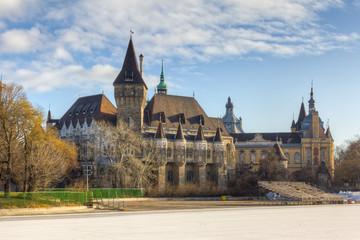 Vajdahunya Castle, Budapest, Hungary