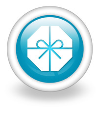 "Light Blue Icon ""Present / Gift"""