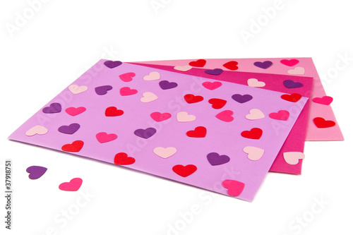 Valentine's envelopes