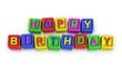 Play Blocks : HAPPY BIRTHDAY