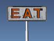 Vintage Eat Sign
