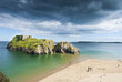 Beach and Island Tenby, Pembrokeshire