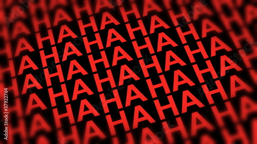 Comedy Laugh DOF Looping Red  Background