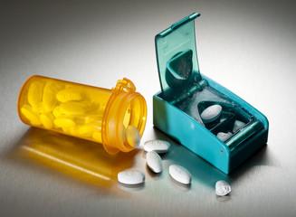 Cutting prescription pills in half to save money