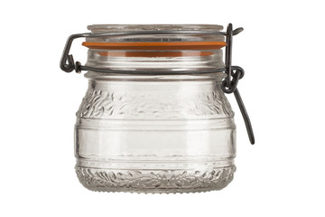 empty closed jar