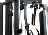 gym equipment- elements of a power training apparatus... poster