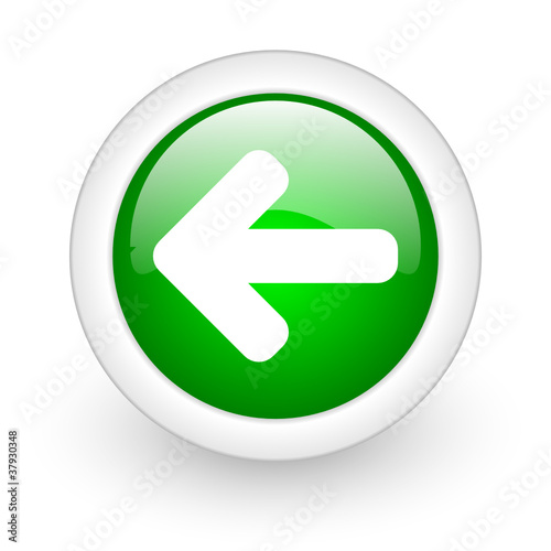 arrow web button