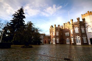 inner yard of the Dutch castle