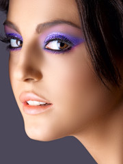 Italian beauty with fashion make-up