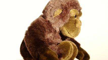 gorilla di peluche