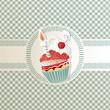 Biglietto con dolcetto di compleanno - Cupcake card