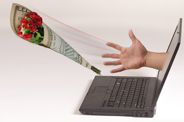 Get Roses From Your Computer.