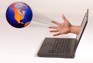 Planet Earth Being Thrown Out of the Computer.