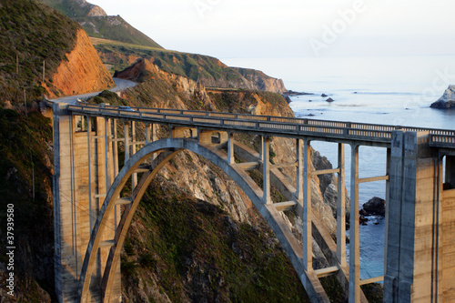 Bixby Bridge, Big Sur, california, USA..