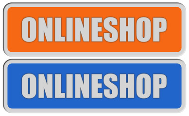 2 Sticker orange blau rel ONLINESHOP
