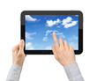 Touching Clouds On Tablet PC