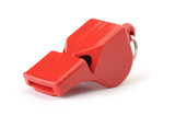 Fototapety Sports whistle the plastic red