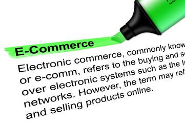 Leuchtmarker E-Commerce