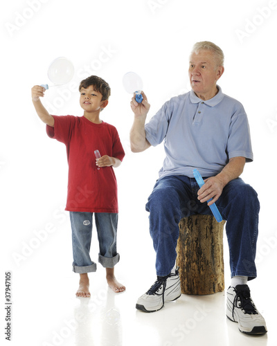 My Bubble's Bigger than Grandpa's