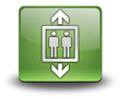 "Green 3D Effect Icon ""Elevator / Lift"""