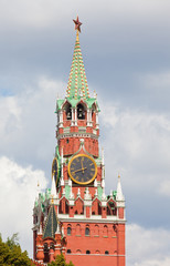 Moscow Kremlin. A Spassky tower.