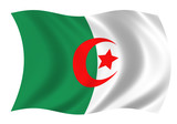 Republic Of Algeria Flag