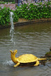 "Fountain ""The Turtles"" In Peterhof, St Petersburg"