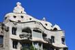 Dach von La Pedrera Casa Mila in Barcelona
